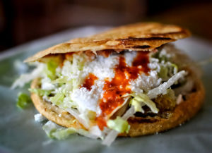 receta gorditas de chicharron