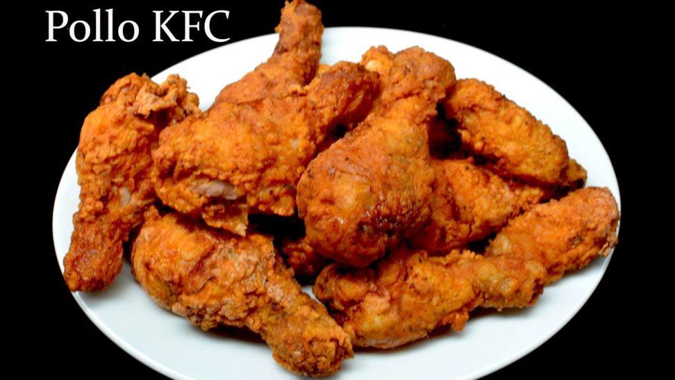 Receta de Pollo frito. Estilo KFC