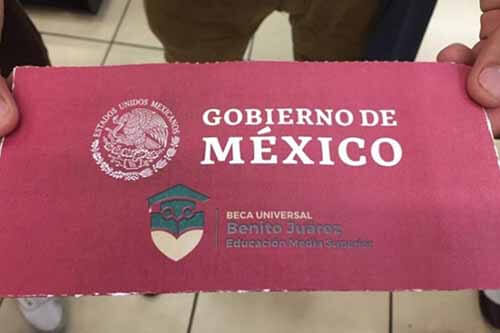 Pago de Beca Benito Juárez