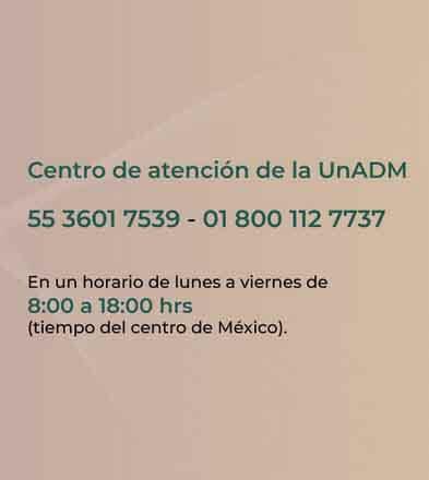 centro de atención UnADM