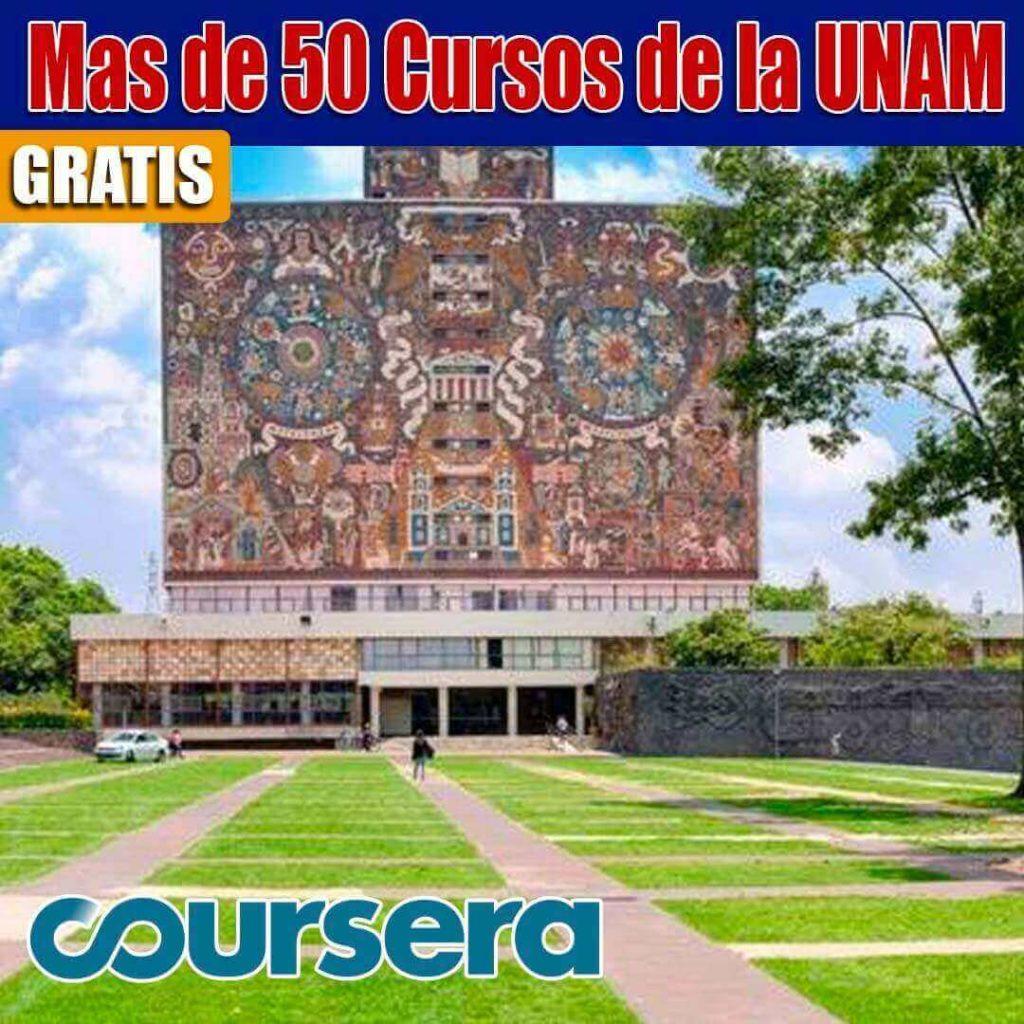 Cursos en la UNAM gratis.