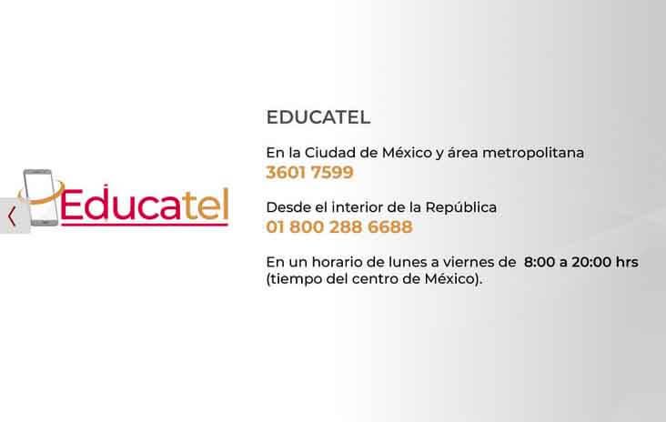 Telefono de Educatel