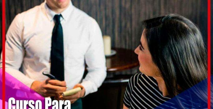 Curso para asistente de mesero en línea